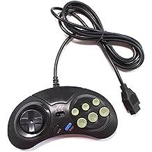 Link-e : Joystick/Mando De 8 Botones Con Función Turbo/Slow Para Consola SEGA Megadrive