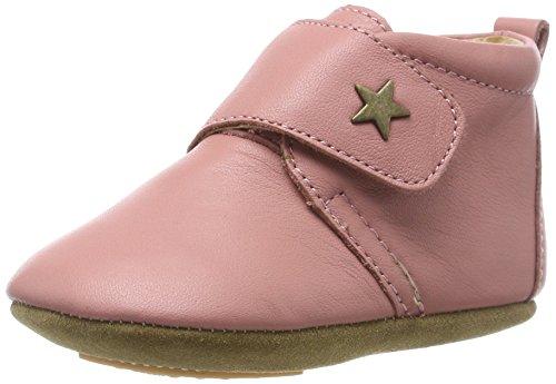 Bisgaard Unisex Baby Velcro Star Pantoffeln, Pink (91 -