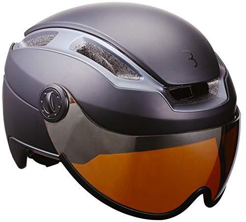 BBB Indra Speed 45 BHE-56F Helm Faceshield matt schwarz Kopfumfang M | 55-58cm 2019 Fahrradhelm