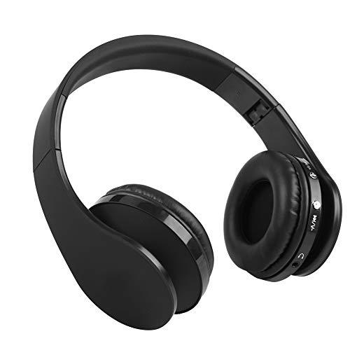 Bluetooth Headset, kabelloses Gaming-Headset Kopfhörer mit Mikrofon Faltbare HiFi-Stereo-Rauschunterdrückung für kabellose Kopfhörer für PS4, PC, Handys.