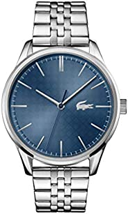 Lacoste Men's Blue Dial Stainless Steel Watch - 201