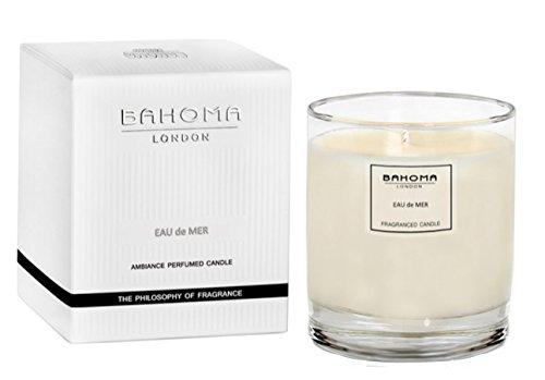 Nelke Diffusor (Duftnote Desire London Parfümierte Kerze 220g (7.8oz.) handgefertigt in England, Eau de Mer, 220g)