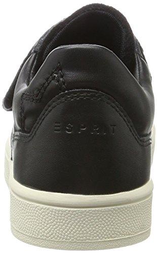ESPRIT Guanda Velcro, Scarpe da Ginnastica Basse Donna Nero (Black)