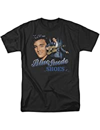 Elvis Presley Blue Suede Shoes Song Legend Classic Music T-Shirt Tee