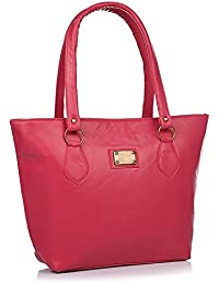 Fargo PU Women's Handbag (Pink_FLFG-01)