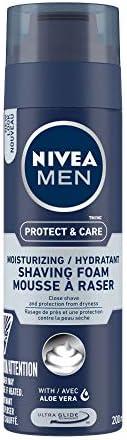 NIVEA MEN Shaving, Protect & Care Shaving Foam, 2
