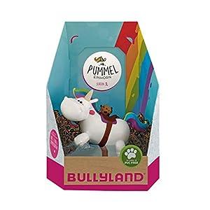 Bullyland 44397 - Figura de Unicornio Chubby con Tarjeta Coleccionable