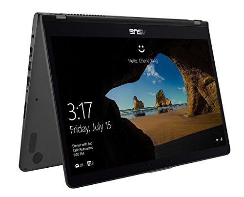ASUS ZenBook Flip 15 39,6 cm (15,6 Zoll UHD Glare Touch) Convertible Notebook (Intel Core i7-8550U, NvidiaGTX1050 2GB, 16GB, 256GB+2TB, W10) Grau