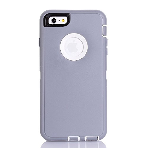 Pour IPhone 6 Plus / 6s Plus, 3 In 1 Hybrid Silicon & Plastic Protective Case JING ( SKU : S-IP6P-2625D ) S-IP6P-2625H