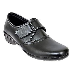 Altek Black Synthetic Formal Shoe For Women (Size : 37 Euro, 7 Ind/Uk) Model: ALTEK_13_301