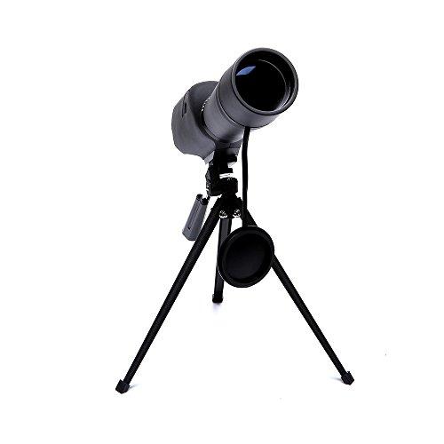 PIGE 20-60X60 großes Okular Spektiv Vogelbeobachtung Monokulares Teleskop BAK7 Stickstoff gefüllt Wasserdicht Outdoor Schwarz
