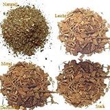 5 x 40 g copeaux de bois de chêne - naturel, légère, moyenne et forte torréfactions