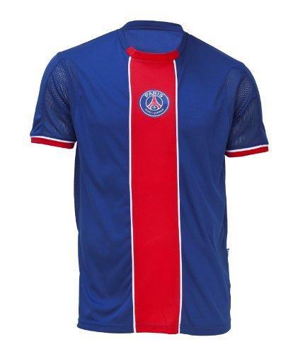 Paris saint germain - maglietta della collezione ufficiale psg, campionato di calcio lega 1, da bambino / ragazzo, blu, 8 anni