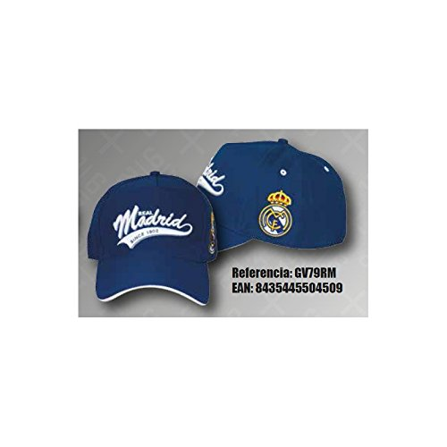 GORRA OFICIAL REAL MADRID AVANCE TEMP. 17 AZUL ADULTO