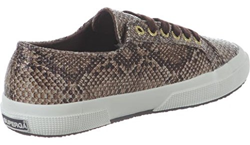 Superga  2750 Cotu Snake, Sneakers Basses adulte mixte Marron