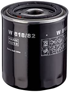 MANN-FILTER W 818/82 Oil Filter for Datsun Go 1.2