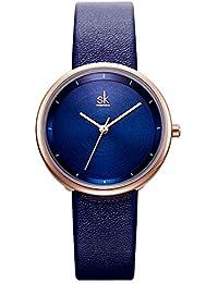 293df1e5e8cb Shengke - Reloj de Pulsera Minimalista para Mujer