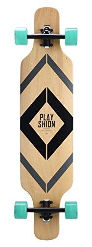 Zoom IMG-2 playshion 39 longboard drop through
