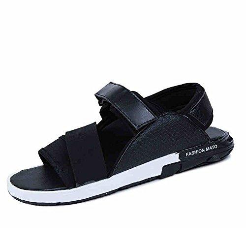 ZHANGRONG- Plage Homme Randonnée Randonnée Velcro Sandales ( Couleur : E , taille : 42 ) A