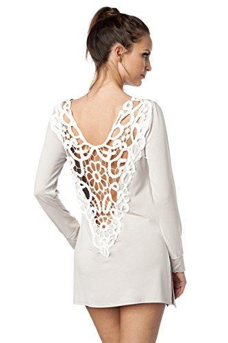 luxury & good Dessous -  Vestito  - Donna Grigio