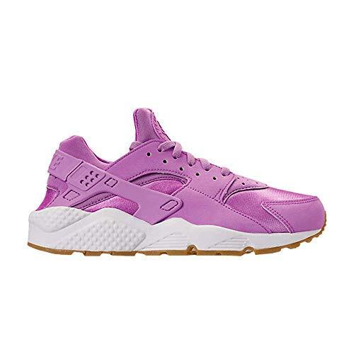 Nike Women's Air Huarache Run Shoes (7 M US, Fuchsia Glow/Fuchsia Glow/Gum Light)