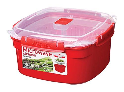 sistema-si1102-micro-ondes-a-vapeur-plastique-rouge-45-x-35-x-25-cm-24-l