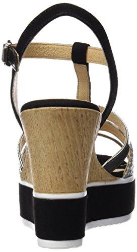 Gadea 40638, Scarpe col Tacco con Cinturino a T Donna, Diversi Colori (Likid Acero/Atenea Grey), 39 EU