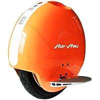 "Run & Roll Turbo Spin 3 - Monociclo eléctrico para hombre, color naranja/blanco, 14"""
