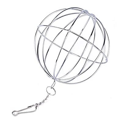Sphere Feed Dispenser Hanging Ball Toy Guinea Pig Hamster Rat Rabbit Pet Supply Convenient and Practical from Vektenxi