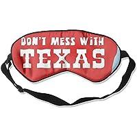 Sleep Mask Don't Mess With Texas Eye Cover Blackout Eye Masks,Soothing Puffy Eyes,Dark Circles,Stress,Breathable... preisvergleich bei billige-tabletten.eu