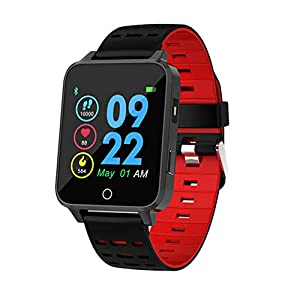 Chenang Wasserdicht IP68 Smartwatch, Health & Fitness Schlafmonitor, Unisex Pulsuhren und Fitness-Tracker X9 1,54 Zoll Fitness Uhr Gesundheits Laufuhr