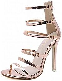 Color es Para Amazon Zapatos Champagne 36 Mujer a7zEfBFwW
