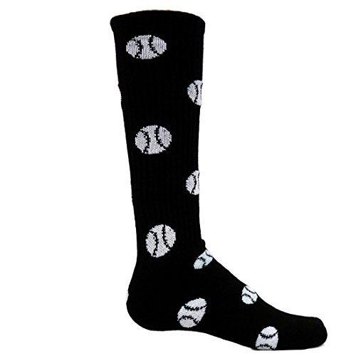 Red Lion Schwarze Socken (Red Lion Socks Basketball-Socken, Gr. M, Schwarz)