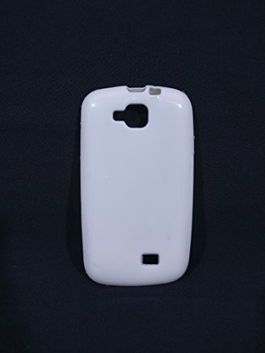 iCandy™ Colorfull Thin Soft TPU Back Cover For Micromax Canvas Fun A63 - White  available at amazon for Rs.109