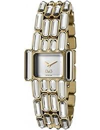 D&G Dolce&Gabbana-Damen-Armbanduhr ARISTOCRATIC 2H BRC SILVER DIAL IPG CASE W DW0473