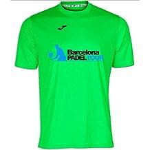 Barcelona Padel Tour Camiseta Manga Corta Técnica Joma Hombre c00e1af5b3b92