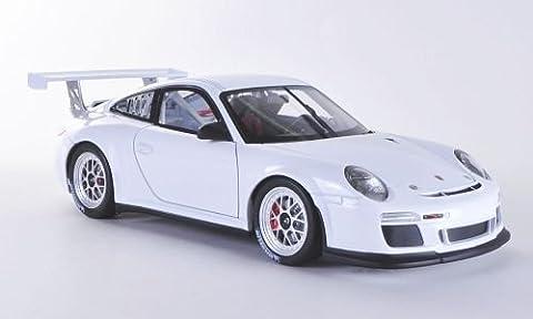 Porsche 911 GT3 Cup (997 II), weiss, Plain Body Version , 2012, Modellauto, Fertigmodell, Welly