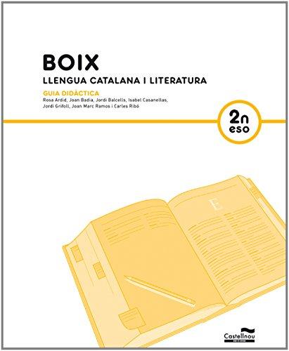 GD BOIX. Llengua Catalana i Literatura. 2n ESO