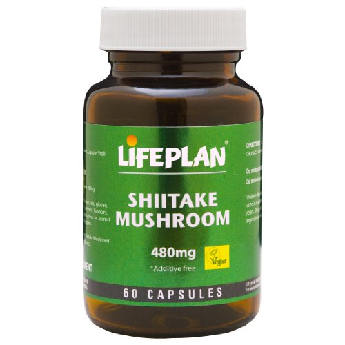 Lifeplan Shiitake Mushroom 480mg 60 Kapseln