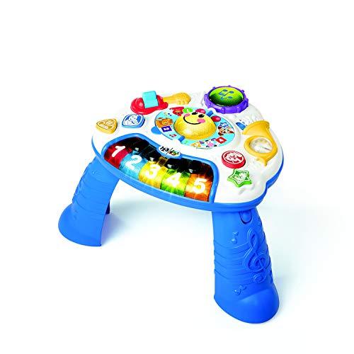 Baby Einstein, höhenverstellbarer Spieltisch mit inkludierter Gitarre, Trommel und Horn, spielt Musik und Töne und lehrt Farben und Zahlen