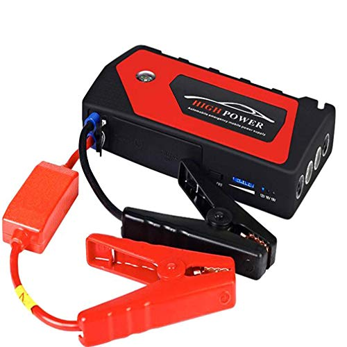 FuweiEncore Auto-Notstart-Stromversorgung, 12V-Stromversorgung, 600A 18000Mah tragbarer...