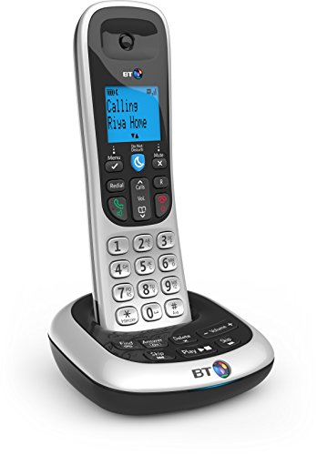 British Telecom BT2700 Nuisance Call Blocker Quad Telefono DECT Identificatore di chiamata Nero, Argento