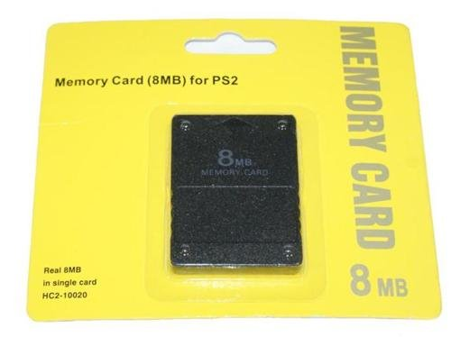 8MB Memory Card Speicherkarte f. PS2 Playstation 2 Konsole - RBrothersTechnologie (Memory Cards Ps2)