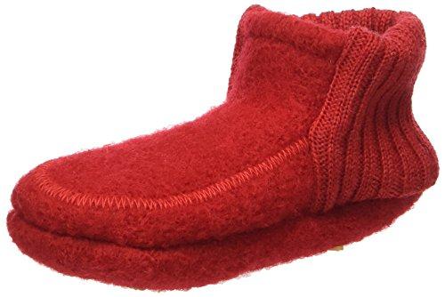 Nanga Hänsel&gretel, Chaussons pour bébé mixte bébé Rouge - Rot (rot / 20)