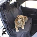 PetsUp Dog, Pet Seat Cover for Car (145 * 130 cm, Black)