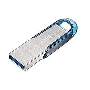 SanDisk Ultra Flair 32 GB USB 3.0 Flash Drive, Upto 150MB/s read - Blue