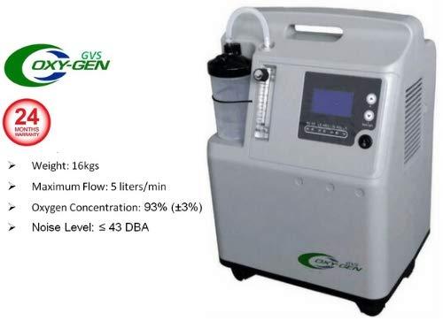 Gvs Oxygen 5L Oxy-Pure Ultra Silence Oxygen Concentrator