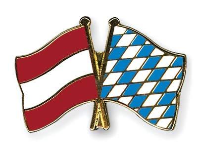 Österreich - Bayern Freundschaftspin