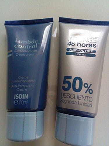ISDIN Set Lambda Control Desodorante Crema Crema intensa