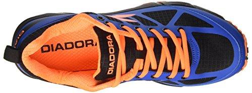 Diadora Herren Raid 3 Laufschuhe Blau (Azzurro/arancio)